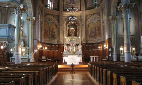 Église Notre-Dame-de-la-Visitation de Champlain